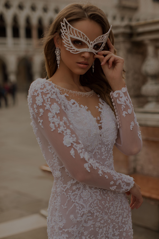 Vestido De Noiva Conceito Máscara