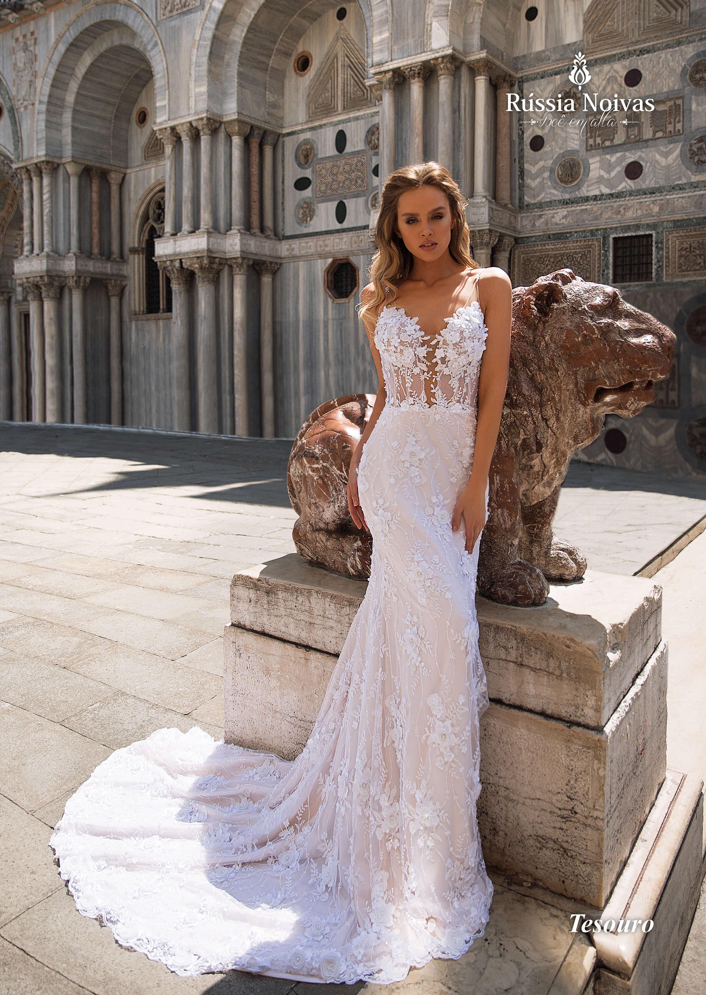 Vestido De Noiva Tesouro