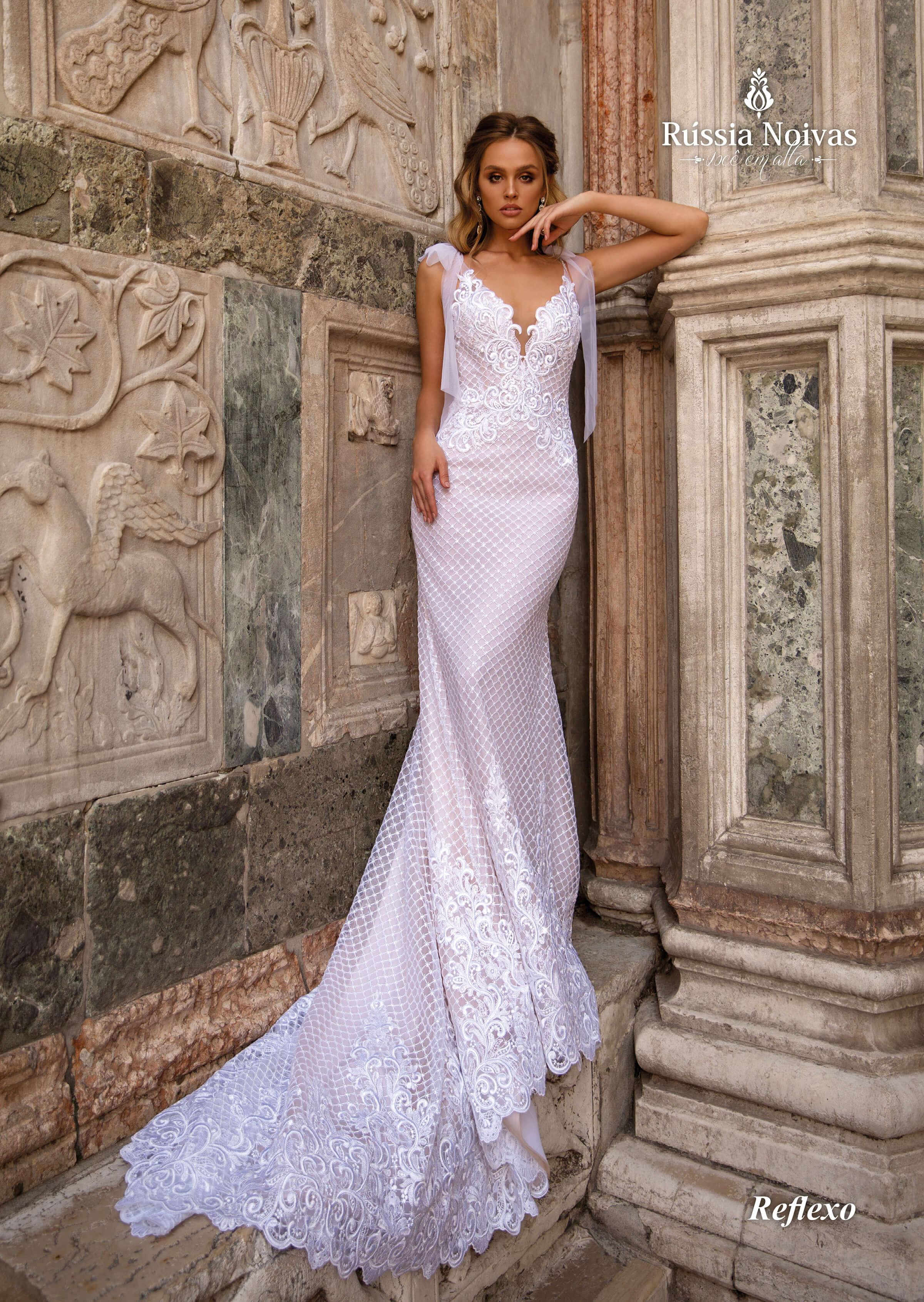 Vestidos De Noiva Com Laço Tendência E Romantismo
